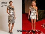 Cameron Diaz In Carolina Herrera - 2011 Vanity Fair Oscar Party