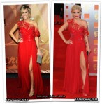 Who Wore Edition by Georges Chakra Better? Carrie Underwood or Sarah Harding