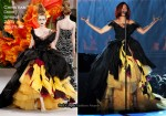Rihanna In Christian Dior Couture - 2011 Grammy Awards