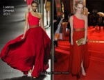 Emma Stone In Lanvin - 2011 BAFTA Awards
