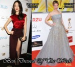 Best Dressed Of The Week - Emmy Rossum In Etro & Renee Zellweger In Carolina Herrera