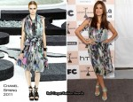 Eva Mendes In Chanel - 2011 Independent Spirit Awards