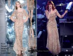 Florence Welch In Elie Saab & YSL - 2011 Grammy Awards