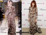Florence Welch In Valentino Couture - Elton John AIDS Foundation's Oscar Viewing Party