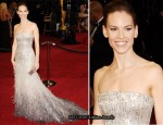 Hilary Swank In Gucci Premiere - 2011 Oscars
