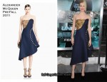 "January Jones In Alexander McQueen - ""Unknown"" LA Premiere"