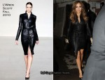 "Jennifer Lopez In L'Wren Scott - ""Live With Regis and Kelly"""