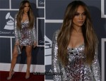 Jennifer Lopez In Emilio Pucci - 2011 Grammy Awards