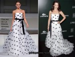Kristin Davis In Oscar de la Renta - 13th Annual Costumer Designers Guild Awards