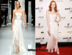 Karen Elson In Versace - amfAR New York Gala To Kick Off Fall 2011 Fashion Week
