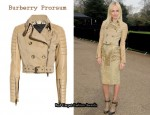 In Kate Bosworth's Closet - Burberry Prorsum Leather Jacket