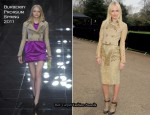 Kate Bosworth In Burberry Prorsum – Burberry Prorsum Fall 2011 Presentation