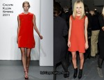 Kate Bosworth In Calvin Klein - Calvin Klein Fall 2011 Presentation