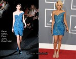Keri Hilson In Basil Soda Couture - 2011 Grammy Awards