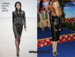 "Nicole Kidman In L'Wren Scott - ""Just Go With It"" New York Premiere"