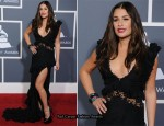 Lea Michele In Emilio Pucci - 2011 Grammy Awards