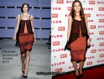Leighton Meester In Proenza Schouler - NYLON February Cover Issue Party
