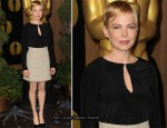 Michelle Williams In Chanel - Academy Awards Nominations Luncheon