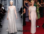 Michelle Williams In Chanel Couture - 2011 Oscars