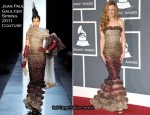 Nicole Kidman In Jean Paul Gaultier Couture – 2011 Grammy Awards