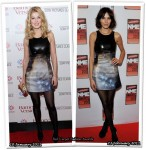 Who Wore Christopher Kane Better? Rosamund Pike or Alexa Chung
