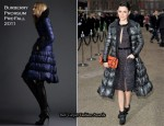 Rachel Bilson In Burberry Prorsum – Burberry Prorsum Fall 2011 Presentation