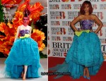 Rihanna In Christian Dior Couture -  2011 Brit Awards
