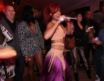 Rihanna In Mark Fast - 23rd Birthday Party