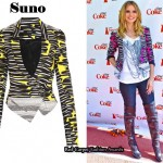 In Heidi Klum's Closet - Suno Printed Jacket