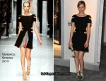 Elizabeth Banks In Versace - Tom Ford Beverly Hills Flagship Store Opening