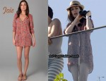 In Anne Hathaway's Closet - Joie A La Plage Collie Cover Up Tunic