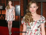 Chloe Moretz In Miu Miu - 2011 Comedy Awards