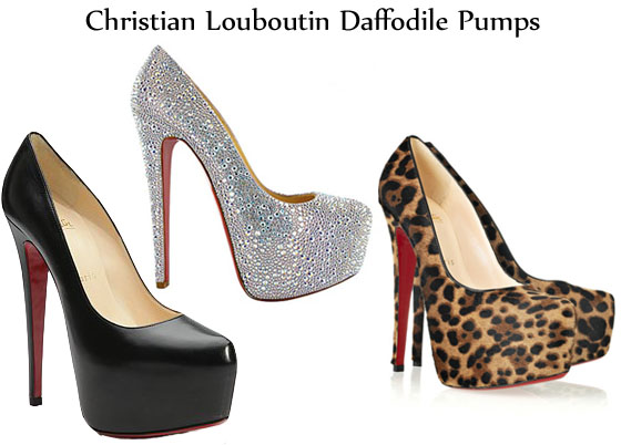 timeless design f5340 67f2c Most Popular Shoe of 2011 - Christian Louboutin Daffodile ...