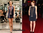 """Emily Browning In Azzaro - """"Sucker Punch"""" London Premiere"""
