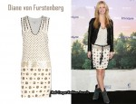 In Brooklyn Decker's Closet - Diane von Furstenberg 'Nicola' Embellished Dress