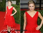 Anna Paquin In Monique Lhuillier - 2011 Vanity Fair Oscar Party