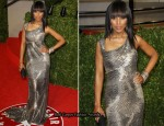 Kerry Washington In Escada - 2011 Vanity Fair Oscar Party