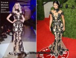 Camila Alves In Zuhair Murad Couture - 2011 Vanity Fair Oscar Party