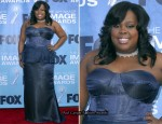 Amber Riley In Jennifer Salzman - 2011 NAACP Image Awards