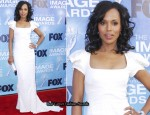 Kerry Washington In Zac Posen - 2011 NAACP Image Awards