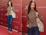 Zoe Saldana In Decades Denim - The John Varvatos 8th Annual Stuart House Benefit