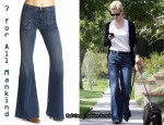 In January Jones' Closet - 7 For All Mankind Georgia Trouser Jeans