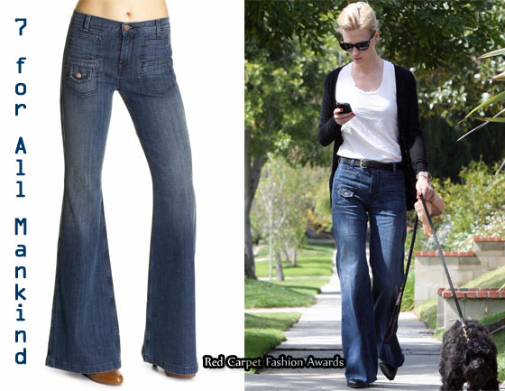 In January Jones' Closet - 7 For All Mankind Georgia Trouser Jeans ...