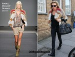 Sidewalk Style: Kate Moss In Isabel Marant