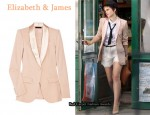 In Emma Watson's Closet - Elizabeth & James Kevington Silk Blazer