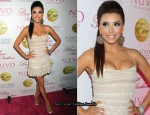 Eva Longoria In Reem Acra - 36th Birthday Party