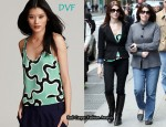 In Ashley Greene's Closet - Diane von Furstenberg Bastiaan Silk Top