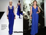 "Abbie Cornish In Amanda Wakeley - ""Sucker Punch"" LA Premiere"