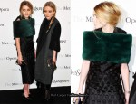 Ashley & Mary-Kate Olsen In YSL - The Metropolitan Opera Premiere of Le Comte Ory