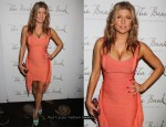 Fergie In Herve Leger by Max Azria - 36th Birthday Party